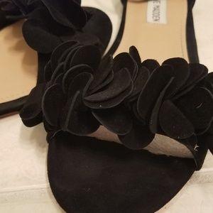 Steve Madden Shoes - Steve Madden Dorothy suede flat sandals w ruffle